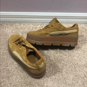 70db39b1a41 Fenty Beauty Shoes - FENTY Suede Cleated Creeper Women 9.5